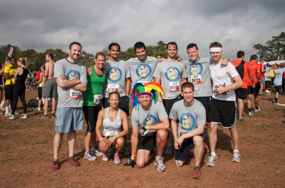 Tough Mudder race
